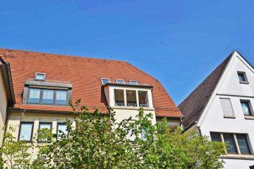 Schöne helle Maisonettewohnung mitten in Ulm, 126 m², großzügig, 5-6 Zimmer, Loggia mit Münsterblick, 89073 Ulm, Etagenwohnung